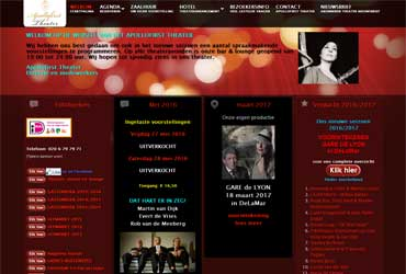Website theater.apollofirst.nl