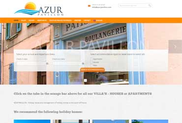 website azurpavillon.com
