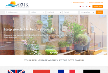 Website azurpavillon.com/real-estate
