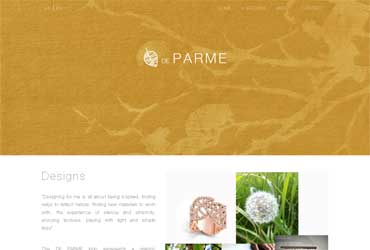Website De Parme Design
