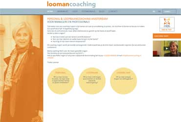 Website loomancoaching.nl