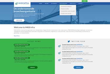 Website mkb-infra.nl
