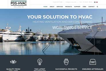 Website pds-hvac.com
